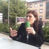La alcaldesa de Cambados, Fátima Abal en la Terraza de Verán de Onda Cero Pontevedra