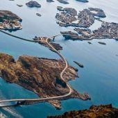 La carretera Ártica de Noruega