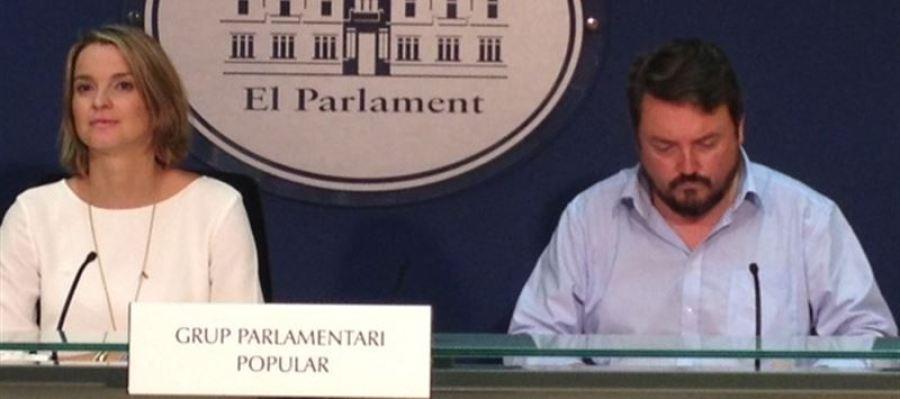 Marga Prohens, portavoz del Grupo Parlamentario Popular en Baleares