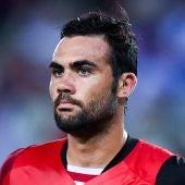 El centrocampista del Sevilla Vicente Iborra