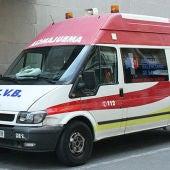 Imagen de archivo de una ambulancia de la Comunidad Valenciana