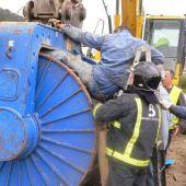 Efectivos de rescate en Asturias