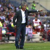 El entrenador de la Unión Deportiva Las Palmas, Paco Herrera