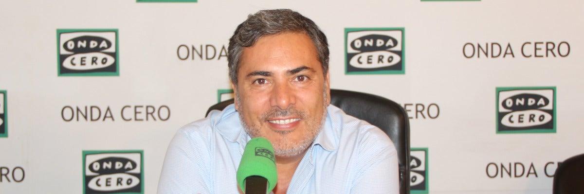 Alberto Granados, presentador de Aquí en la onda Madrid