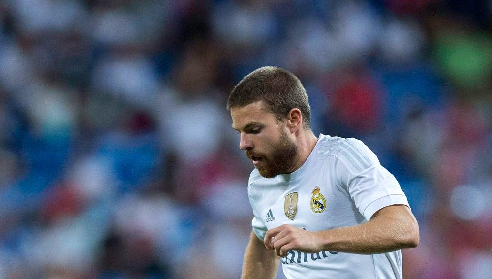 Illarramendi, con la camiseta del Real Madrid