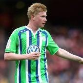 Kevin De Bruyne, jugador del Wolfsburgo