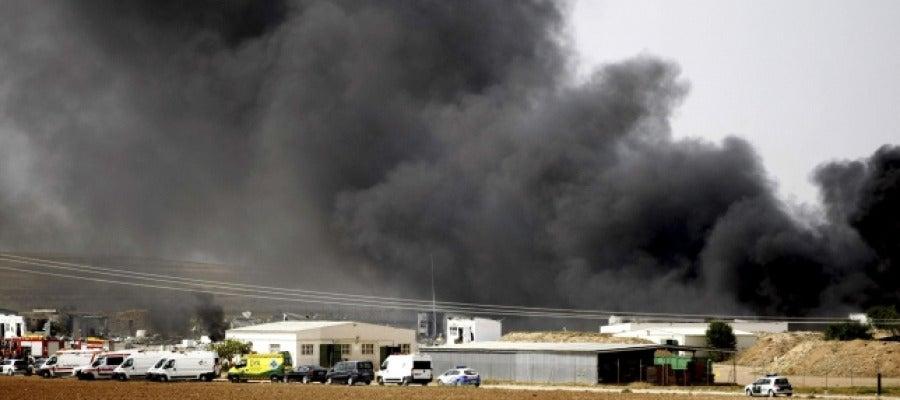 Tres muertos por una explosión pirotécnica en Zaragoza