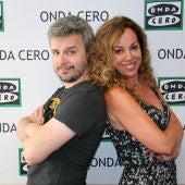 Juan Gómez- Jurado y Raquel Martos