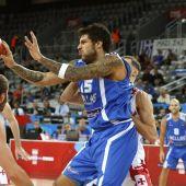 El jugador de la selección griega de baloncesto Georgios Printezis