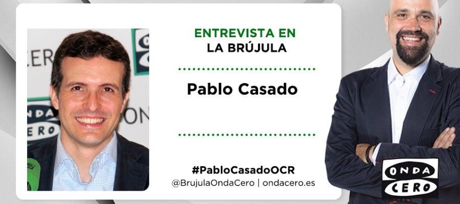 Pablo Casado en La Brújula