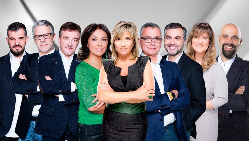 Grupo de presentadores de Onda Cero 2015