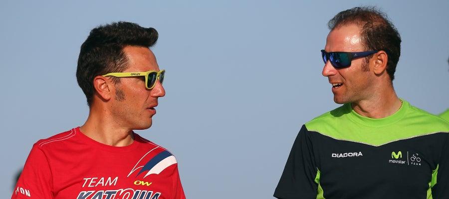 'Purito' Rodríguez y Alejandro Valverde