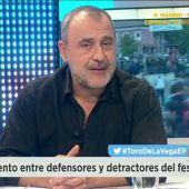 """Frame 12.499088 de: Carlos Rodríguez sobre el Toro de la Vega: """"Esto no es una fiesta, es una matanza indiscriminada."""""""