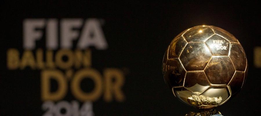 El trofeo 'Balón de oro'