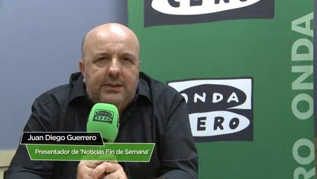 """Juan Diego Guerrero: """"Tratamos de hacer una radio comprensible y que haga menos ingratas las noticias"""""""