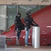 La Policía holandesa asegura la vía de la estación de Rotterdam