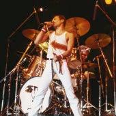 Freddie Mercury, líder del grupo Queen