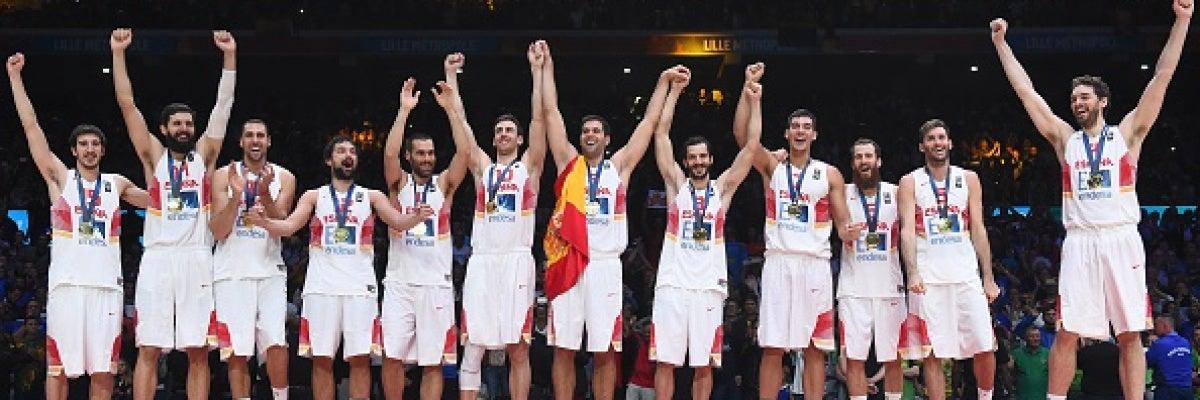 La selección española de baloncesto, campeona de Europa en el Eurobasket 2015