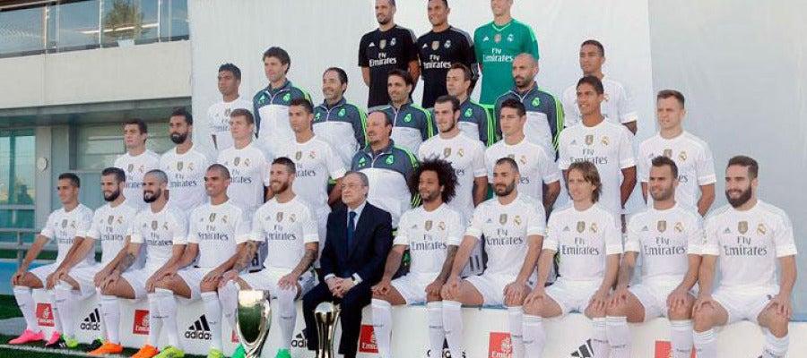 Foto oficial del Real Madrid para la temporada 2015/16