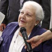 La editora Carmen Balcells