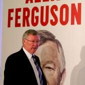 Alex Ferguson, durante la presentación de su libro