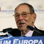 El exalto representante de Política Exterior de la Unión Europea, Javier Solana