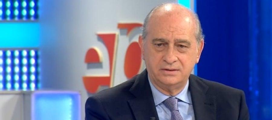 El ministro del Interior, Jorge Fernández Díaz, en Espejo Público