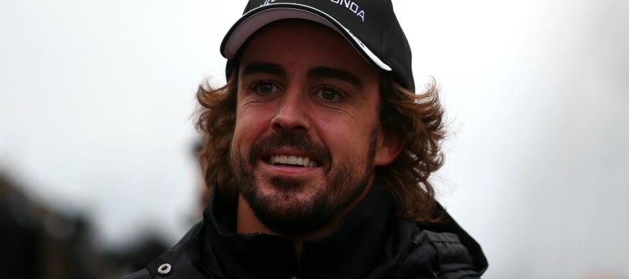 El piloto de Fórmula 1 Fernando Alonso