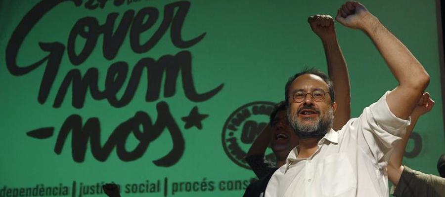 El candidato de la CUP, Antonio Baños,