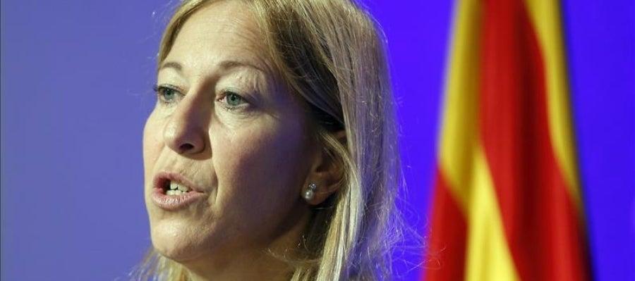 La vicepresidenta y portavoz del Govern, Neus Munté