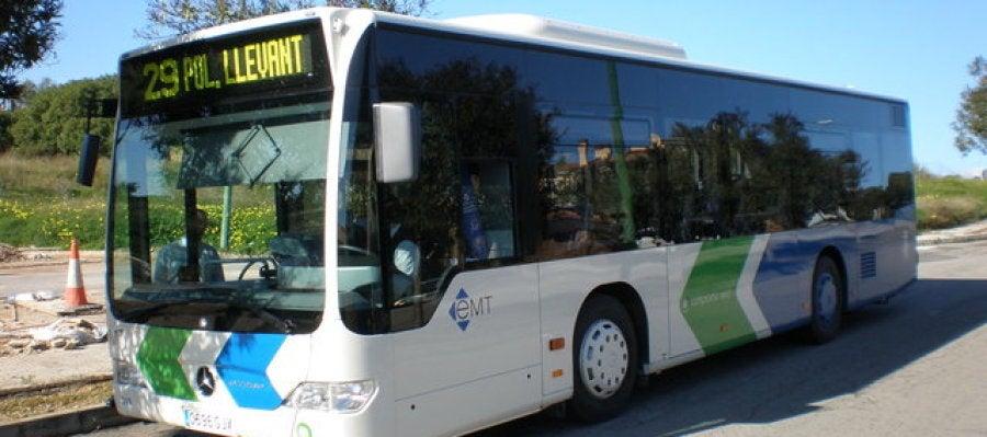 Un autobús urbano de Palma