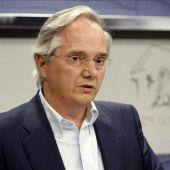 El portavoz del PP en la Comisión Constitucional, Pedro Gómez de la Serna