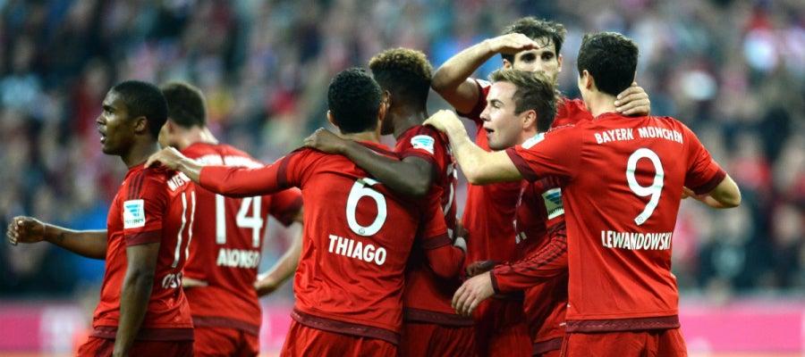 Bayern de Múnich le endosa una goleada al Dormund