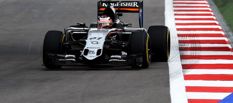 Nico Hulkenberg en el circuito de Sochi
