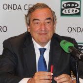 El presidente de la CEOE, Juan Rosell, en Más de uno