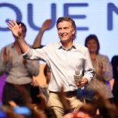 El candidato Macri.