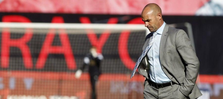 Paco Jémez, durante un partido