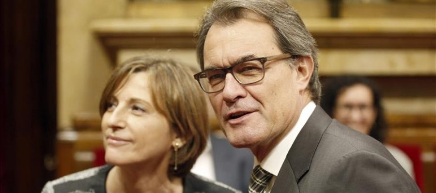 Artur Mas y Carme Forcadell