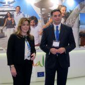 Susana Díaz también se opone a la ecotasa en Baleares.
