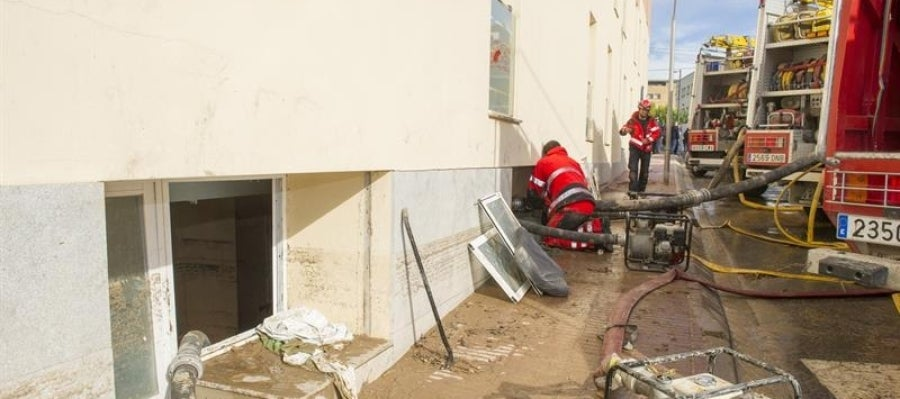 La residencia donde fallecieron cuatro ancianas por las inundaciones