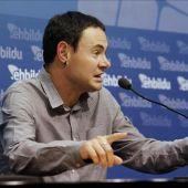 El parlamentario de EH Bildu Hasier Arraiz