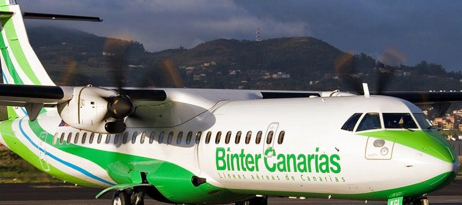 Binter Canarias conecta las islas del archipiélago