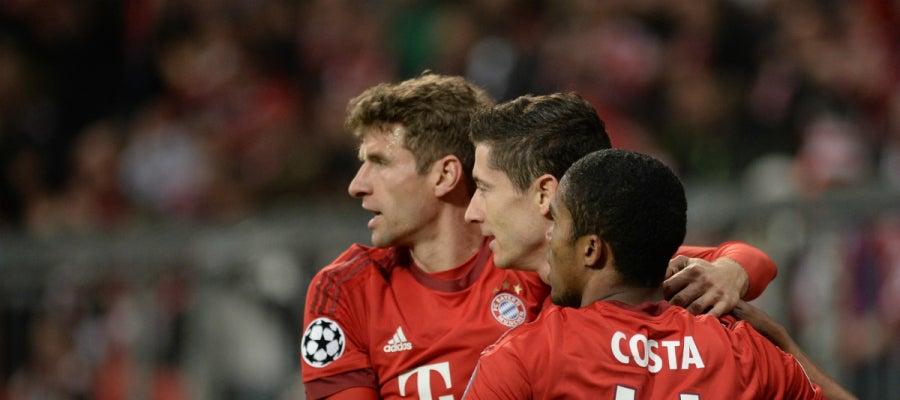 El Bayern de Múnich gana de goleada