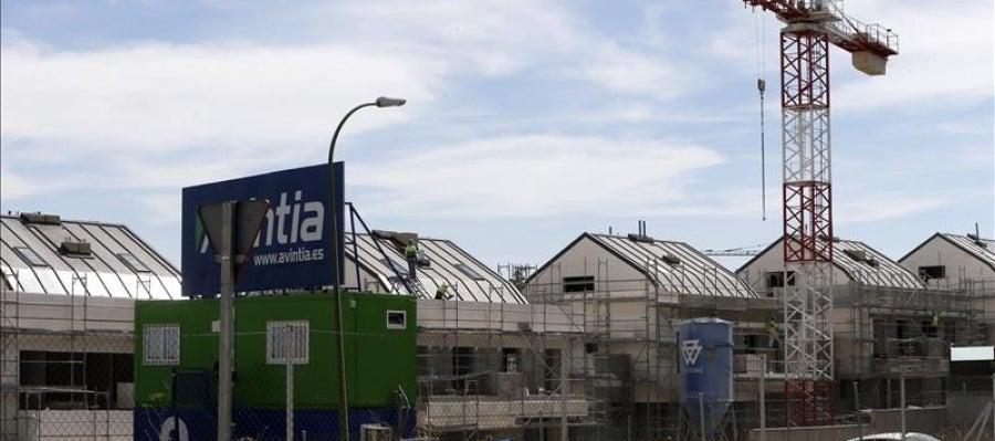 Viviendas en construcción en Madrid