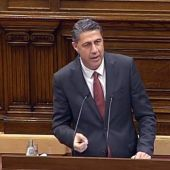 Xavier García Albiol en el Parlament