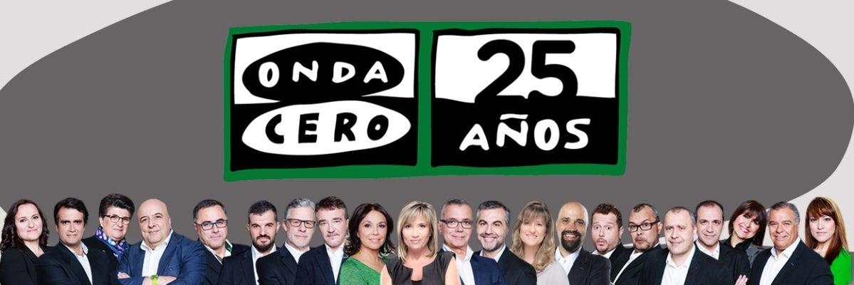 Onda Cero celebra 25 temporadas