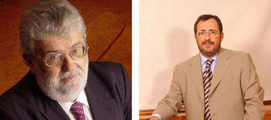 José Manuel Lara y Javier González Ferrari