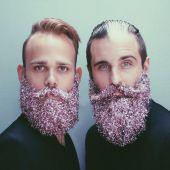 Barbas de purpurina