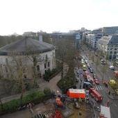 Evacúan la Gran Mezquita de Bruselas