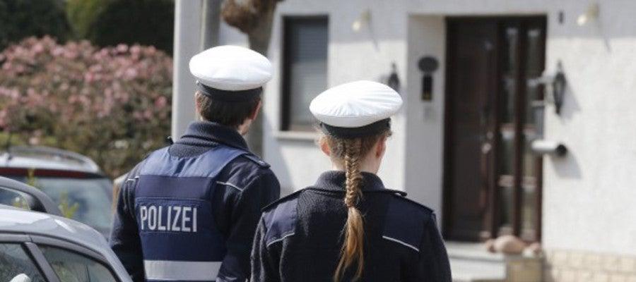 Dos agentes de la policía alemana